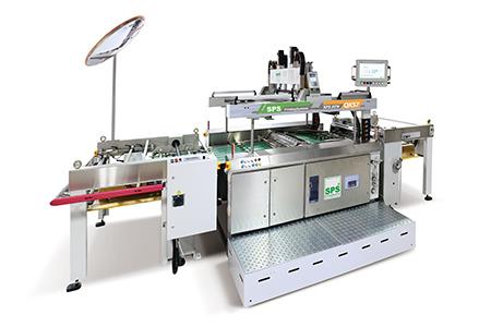 伺服高速停歇滾筒式網印機 / 伺服紙張前取送料機 / 東遠精技工業股份有限公司