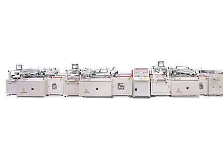 全自動電路板雙面塞孔防焊網印生產線 / 東遠精技工業股份有限公司