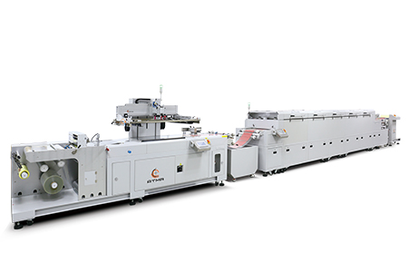 ATMA CHAMP ENT. CORP.-Fully Automatic Roll-to-Roll Screen Printing Line