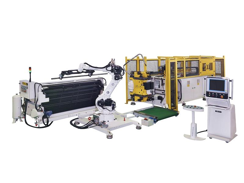 10軸全電控制左右共向彎管機 / 和和機械股份有限公司