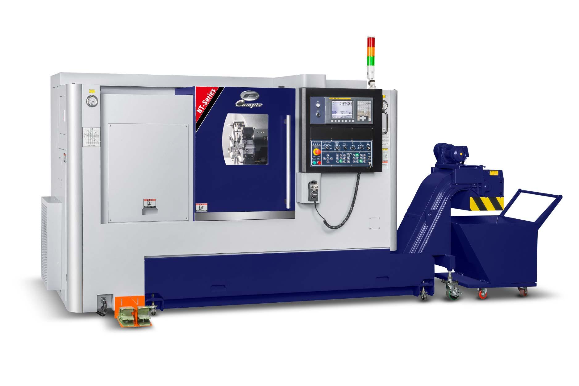 智慧化CNC車銑複合機 / 凱柏精密機械股份有限公司