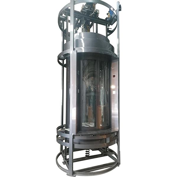 全圓型景觀電梯 / 易鋒機械工程有限公司