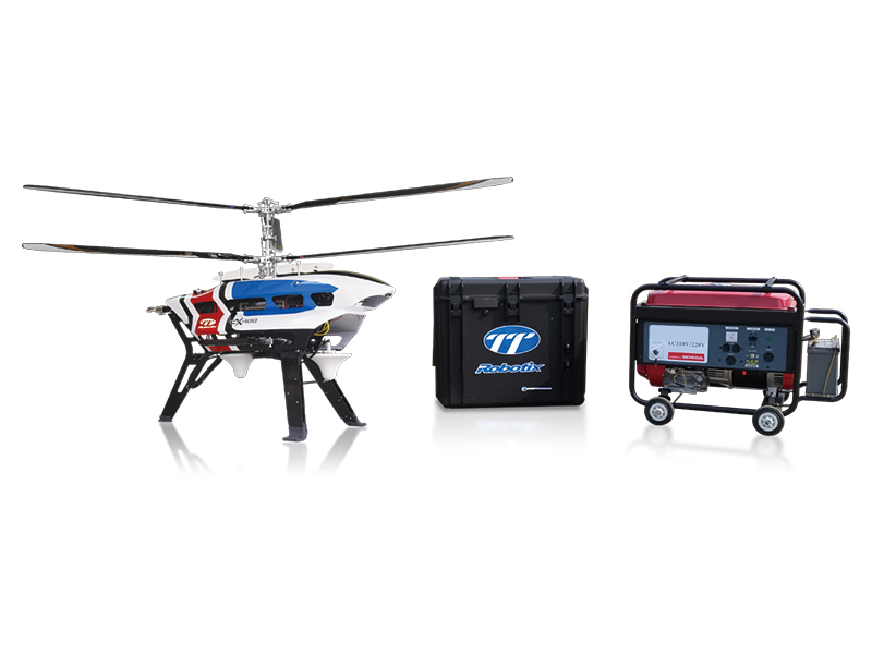 TETHERED UNMANNED HELICOPTER