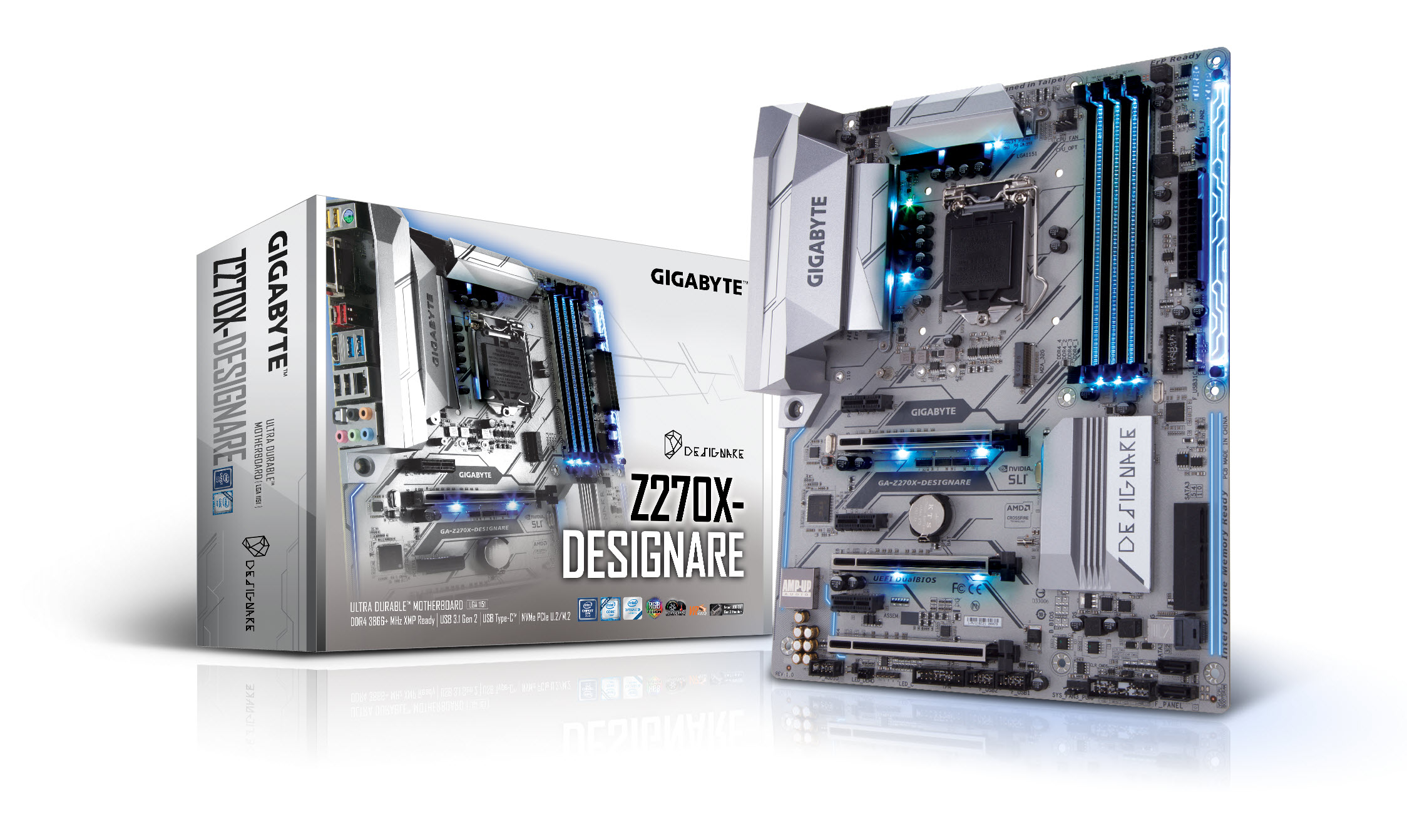 The motherboard created for professional designers / GIGABYTE TECHNOLOGY CO., LTD.