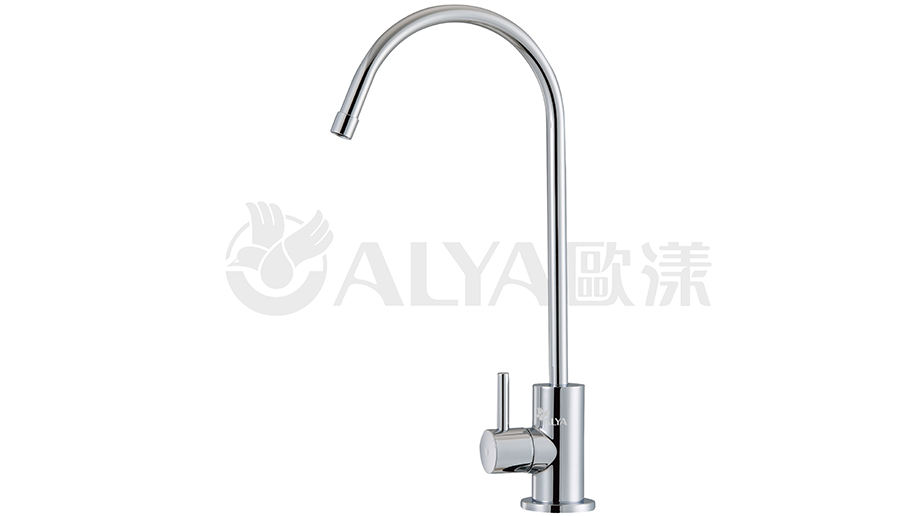 NO LEAD BRASS UNIQUE QUARTER-TURN FORGED BRASS FAUCET / Easywell Water Systems, Inc.