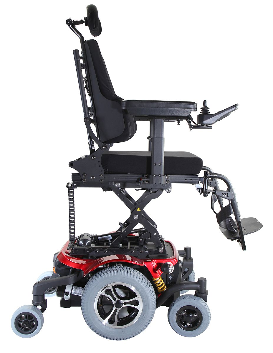 Morgan with KISS Power Wheelchairs / KARMA MEDICAL PRODUCTS CO., LTD.