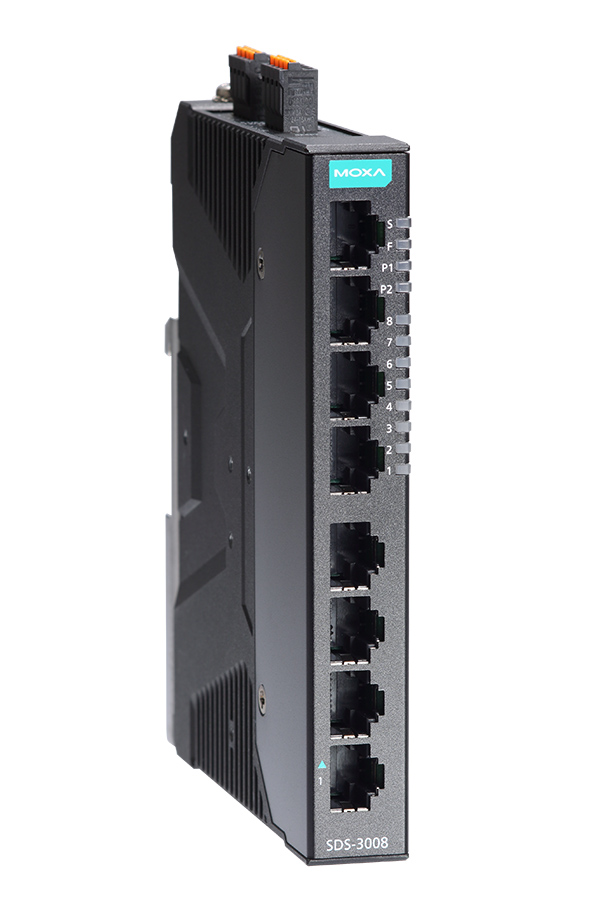 Moxa Inc.-Industrial 8-port smart Ethernet switches