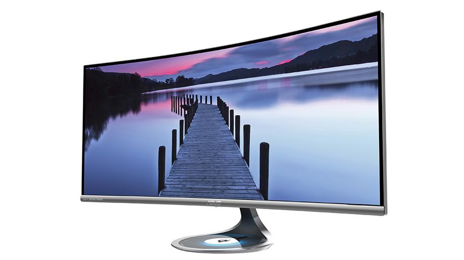 华硕美型曲面显示器 / 华硕计算机股份有限公司