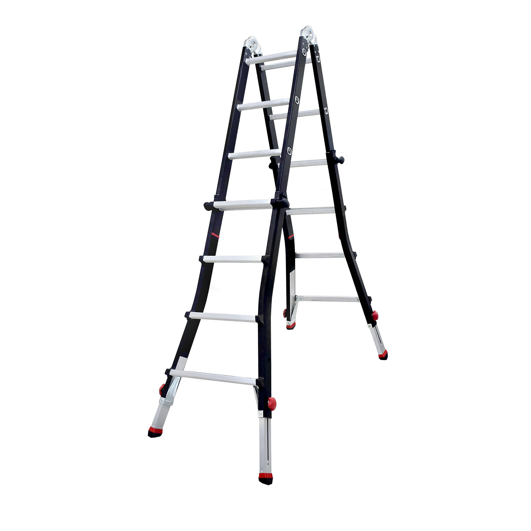 DOFAIR CO., LTD.-Telescopic folding ladder with extension feet