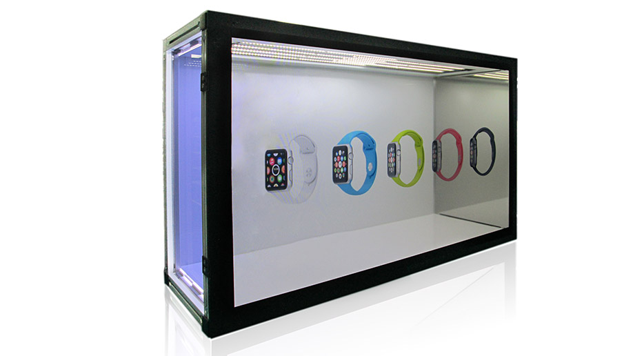 LeadWell Optical Co., Ltd.-Transparent Demo Box with Touch and Wifi
