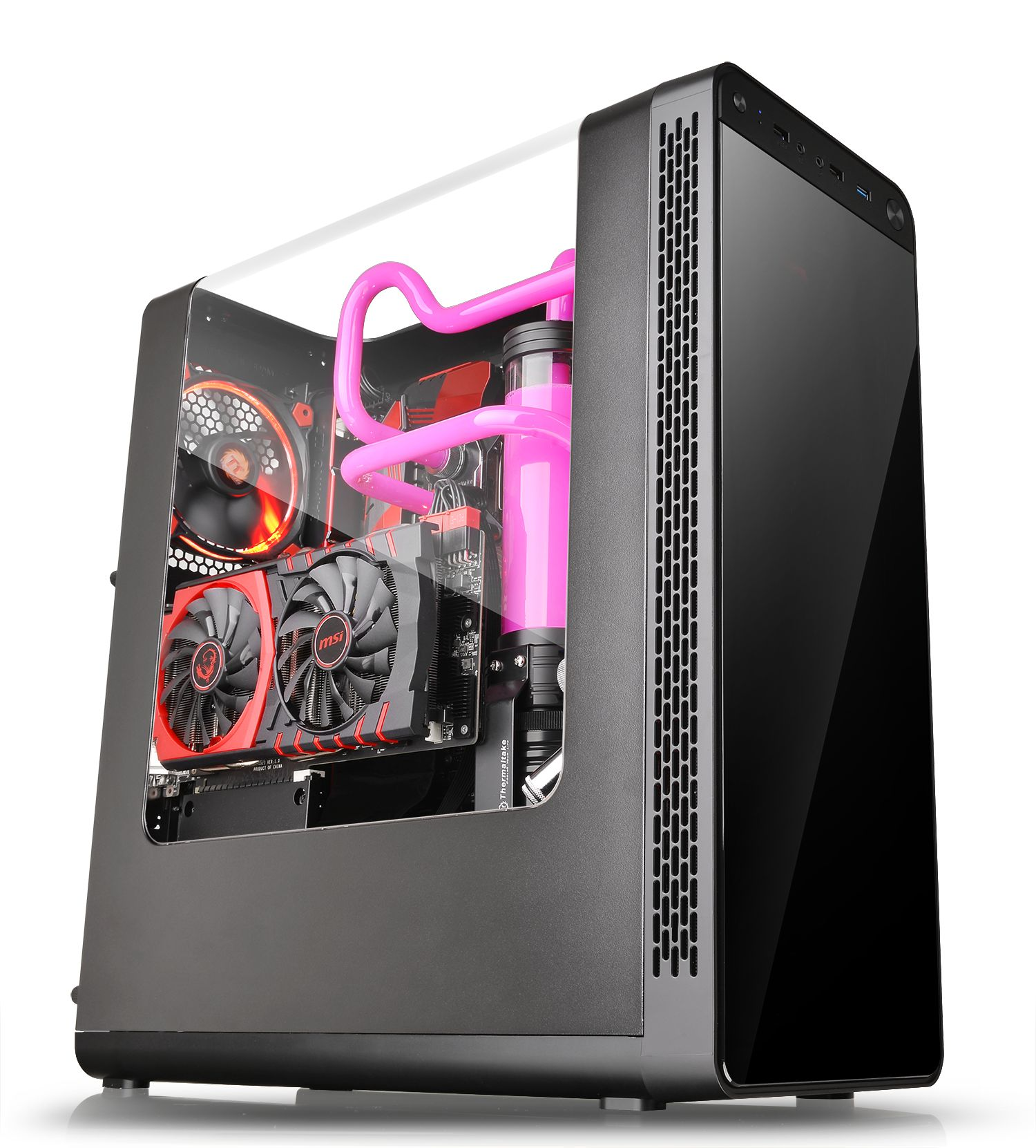 Thermaltake View 27 Gull-Wing Window ATX Mid-Tower Chassis / Thermaltake Technology Co., Ltd.