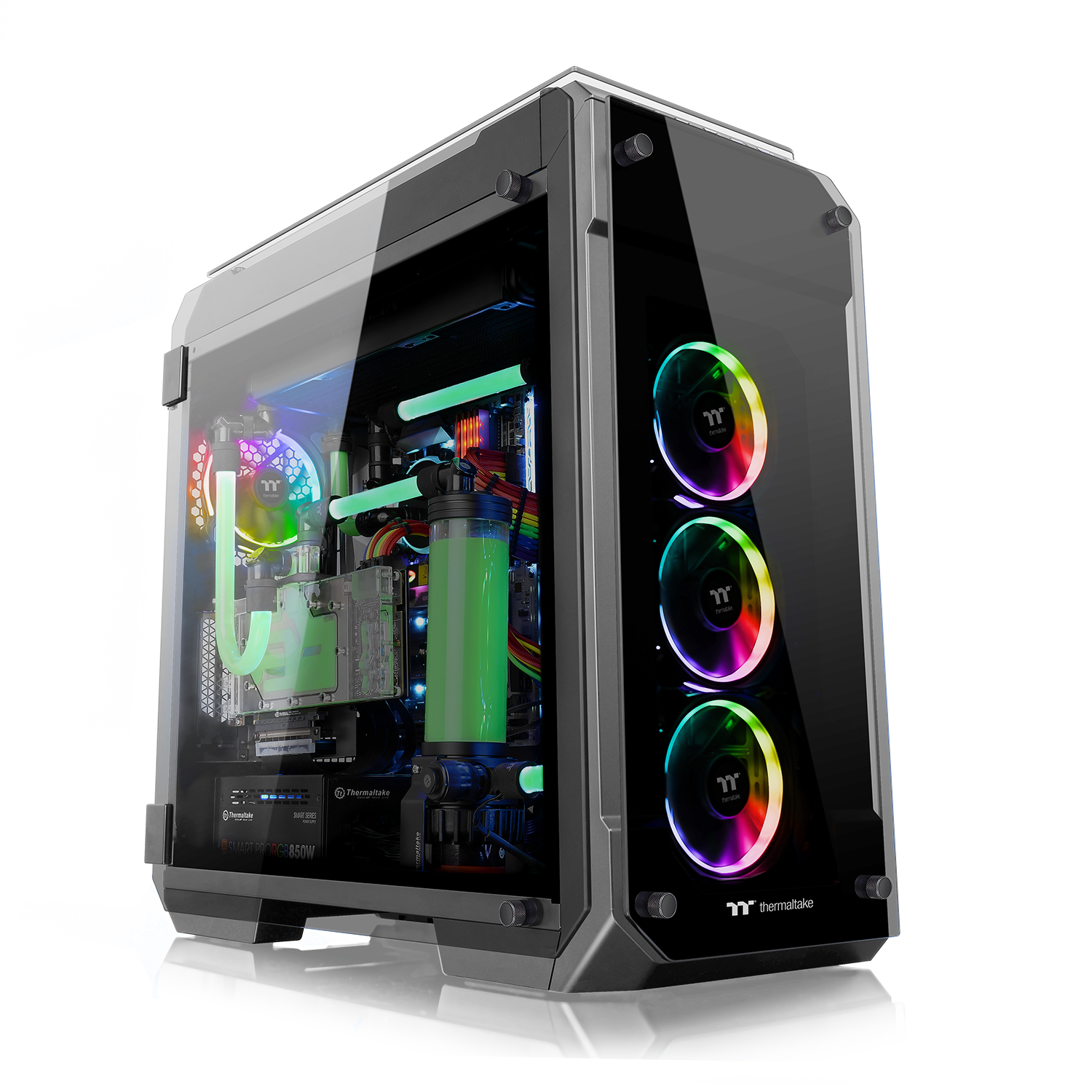 View 71 Tempered Glass RGB Edition Full Tower Chassis / Thermaltake Technology Co., Ltd.