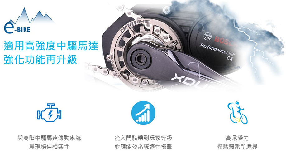 KMC CHAIN INDUSTRIAL CO., LTD.-eBike Series
