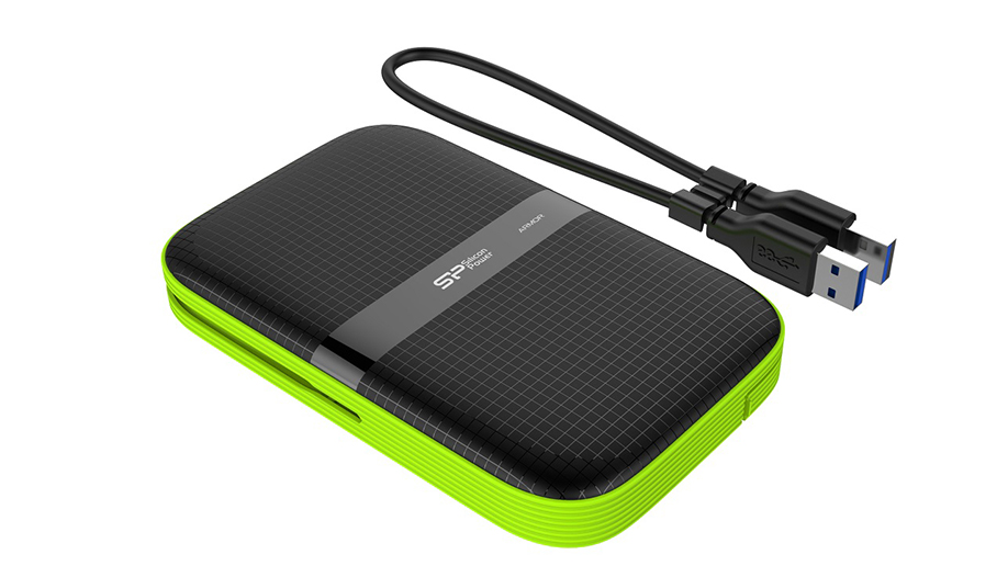 Silicon Power Computer & Communications Inc.-Shockproof Water-resistant Portabal Hard Drive