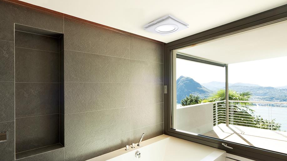 Sunonwealth Electric Machine Industry Co., Ltd.-LED Lighting Ventilation Fan