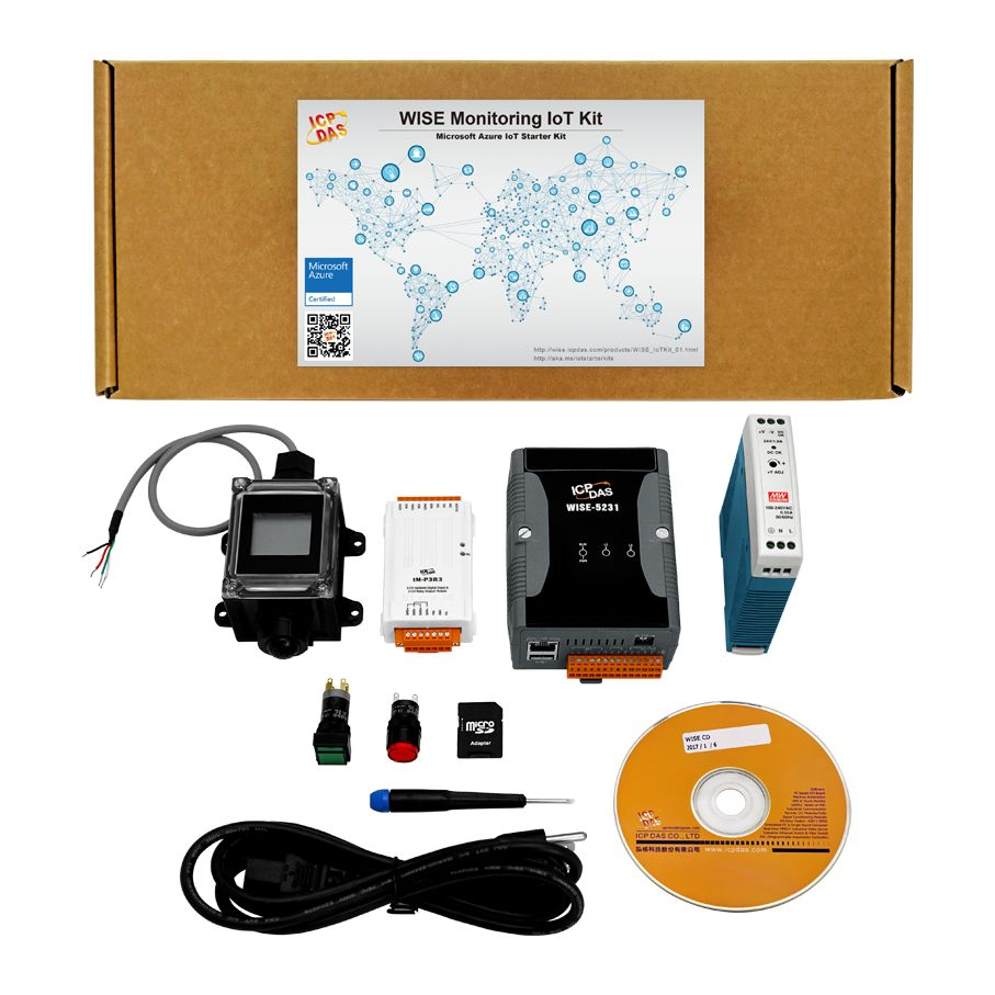 WISE Monitoring IoT Kit / ICP DAS CO., LTD.