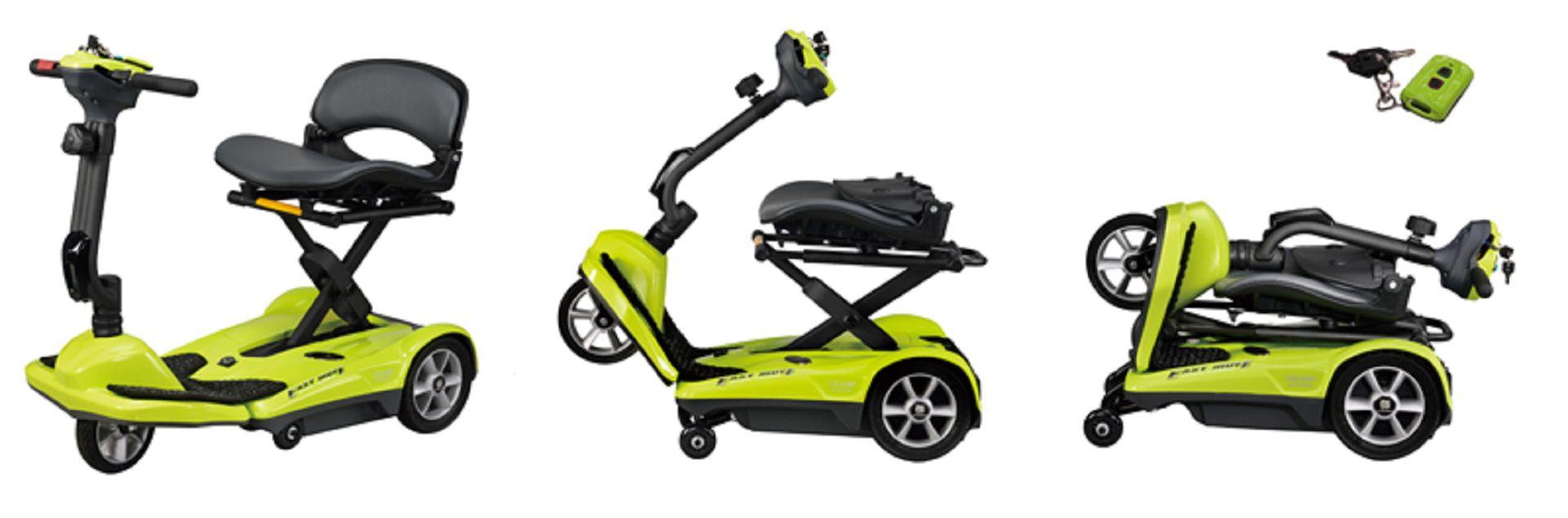 HEARTWAY MEDICAL PRODUCTS CO., LTD.-Compact Scooters