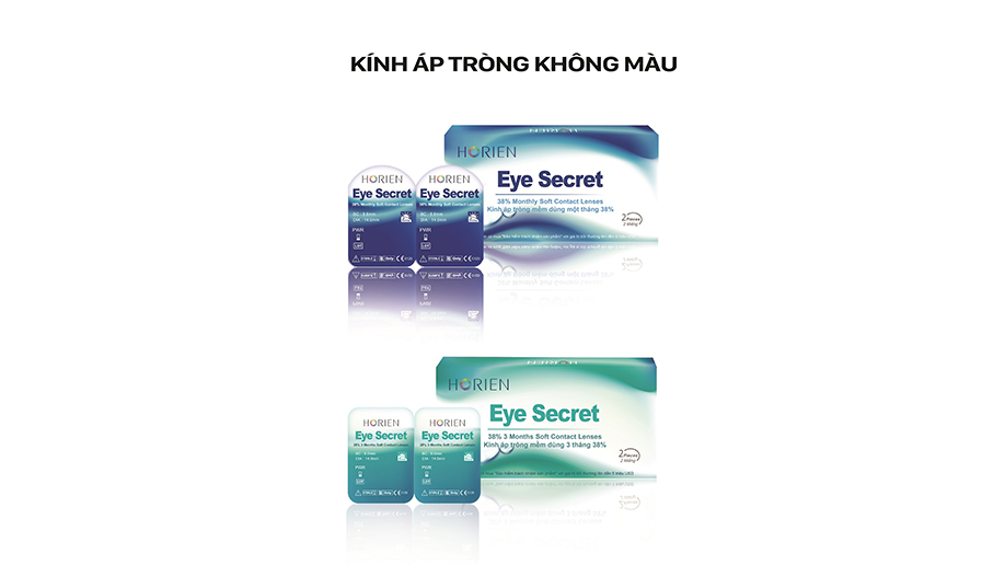 Eye Secret 38% Contact Lenses / Yung Sheng Optical Co., Ltd.