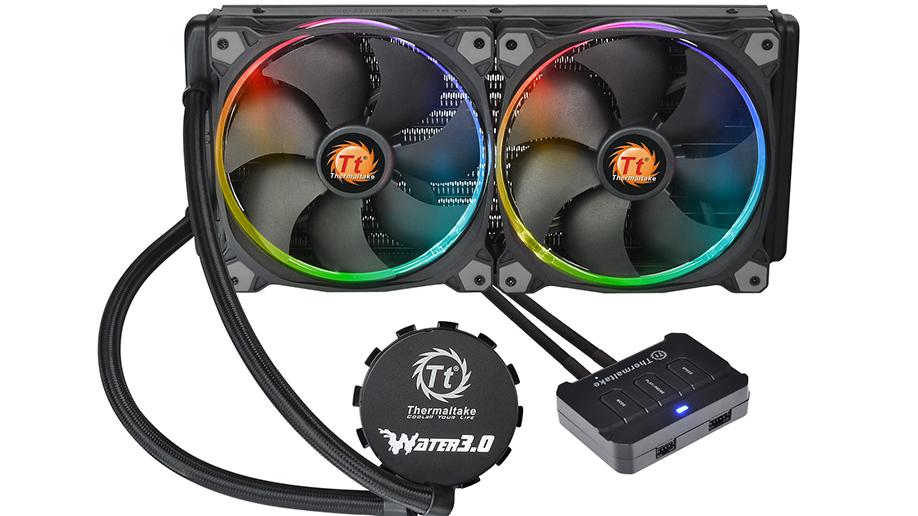 Thermaltake Technology Co., Ltd.-Thermaltake Water 3.0 Riing RGB 240