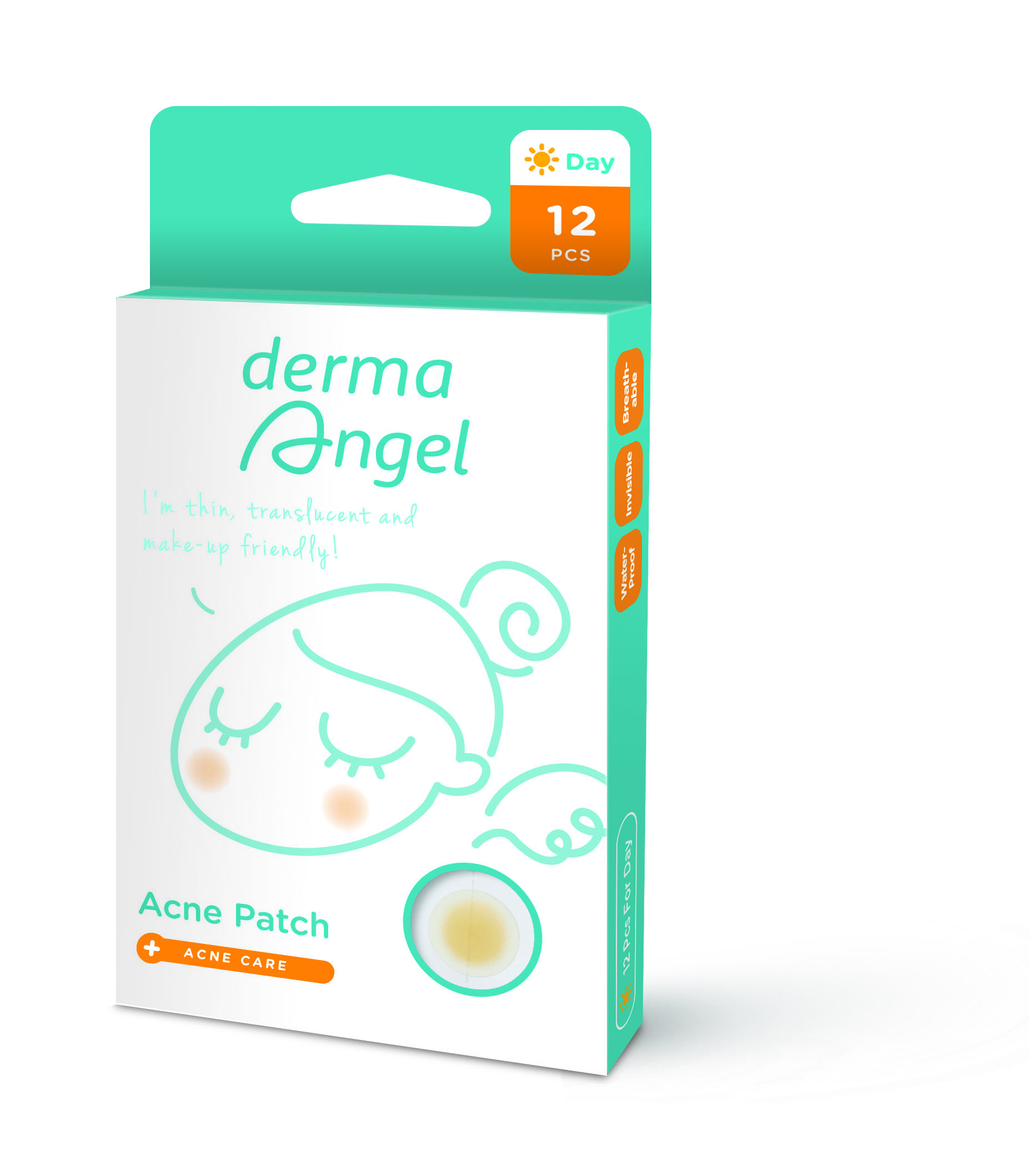 derma Angel acne patch / BenQ Materials Corp.