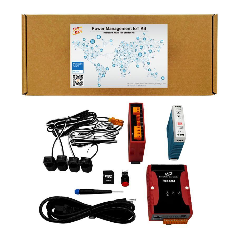 Power Management IoT Kit / ICP DAS Co., Ltd.