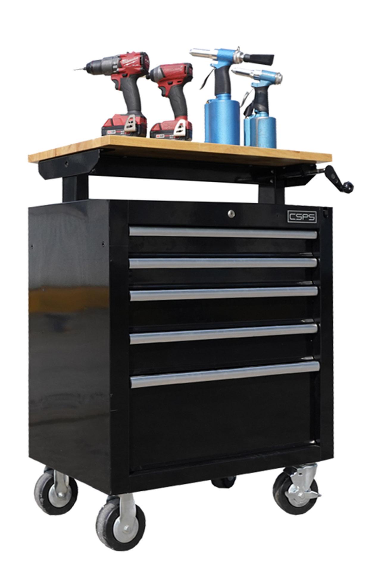 Adjustable toolchest
