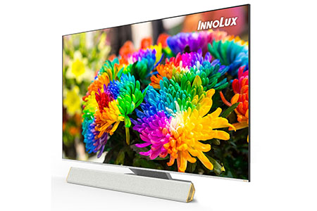 "65""Infinity screen and thin 8K TV / Innolux Corporation"