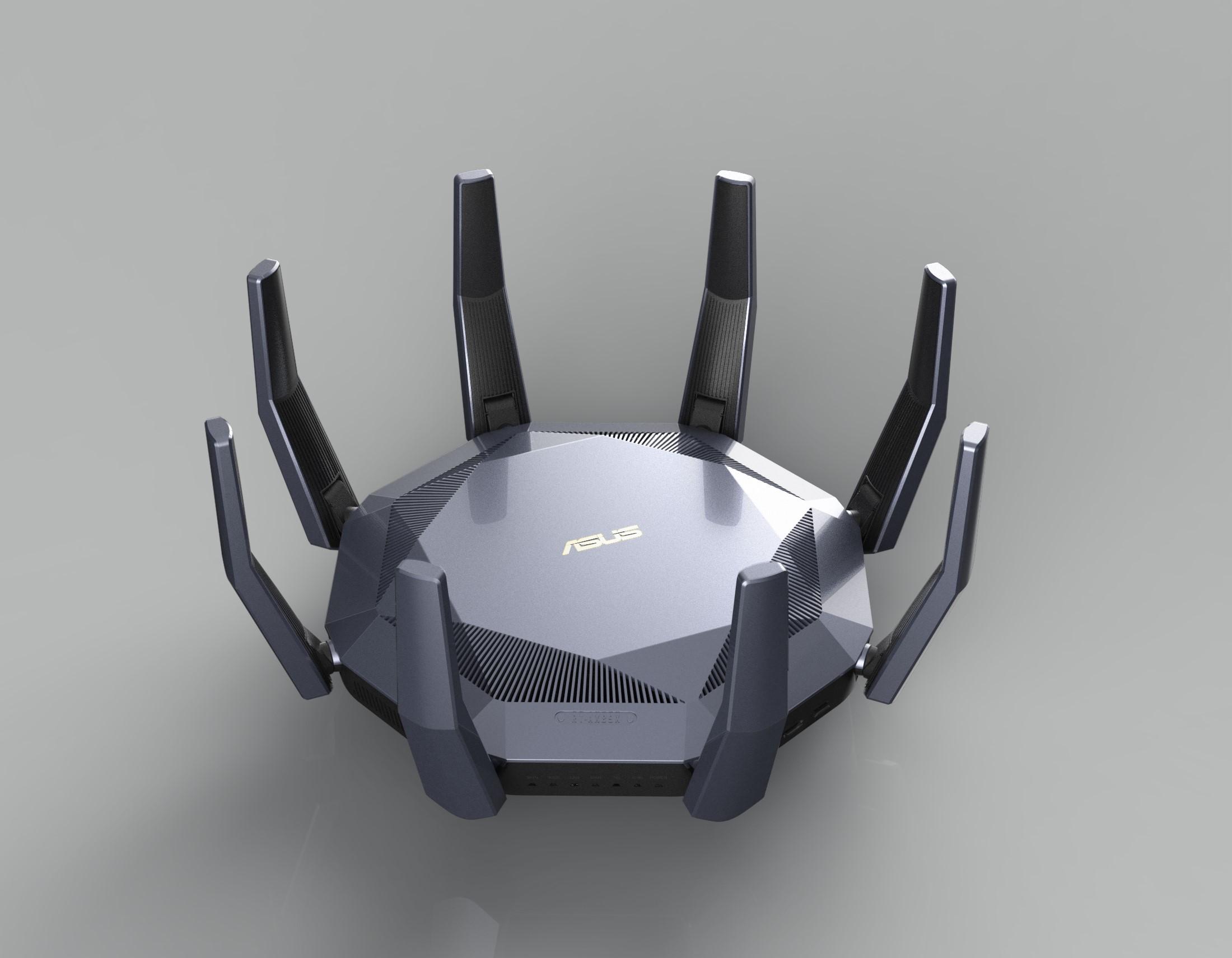 ASUSTeK Computer Inc.-Dual-band Wi-Fi router