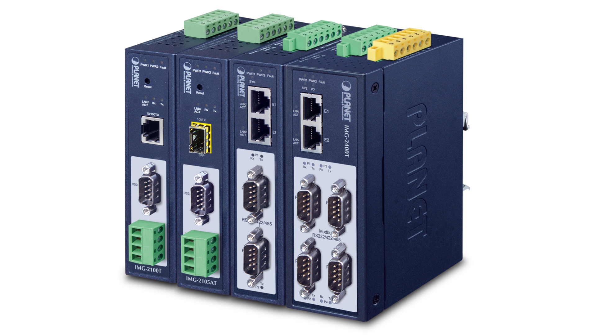 Modbus Gateway  RS232/422/485 công nghiệp
