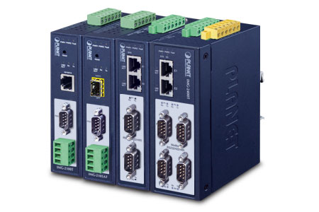 Modbus Gateway  RS232/422/485 công nghiệp / PLANET Technology Corporation