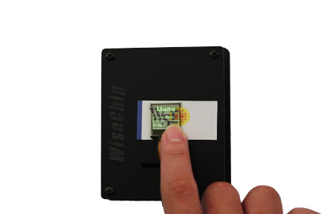 Transparent OLED Touch Display- WiseChip Semiconductor Inc.
