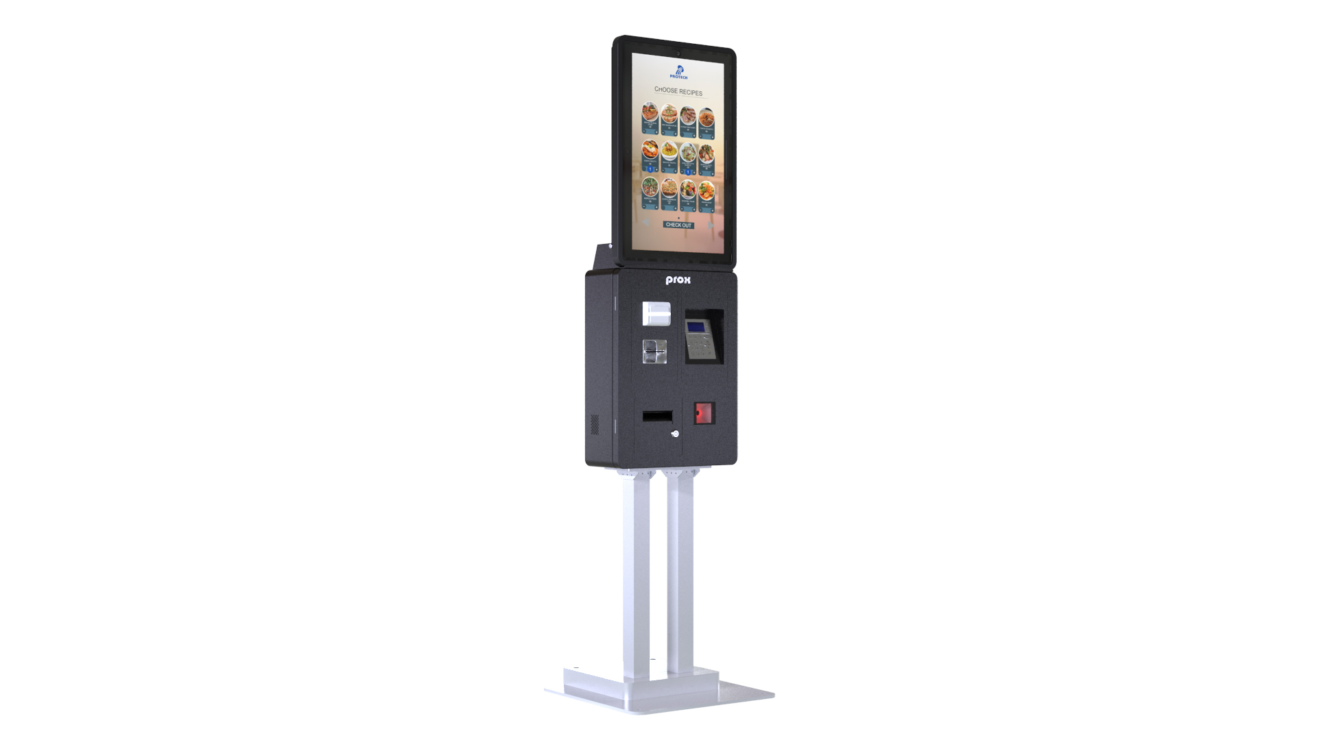 "21.5"" multifunctional self-service kiosk"