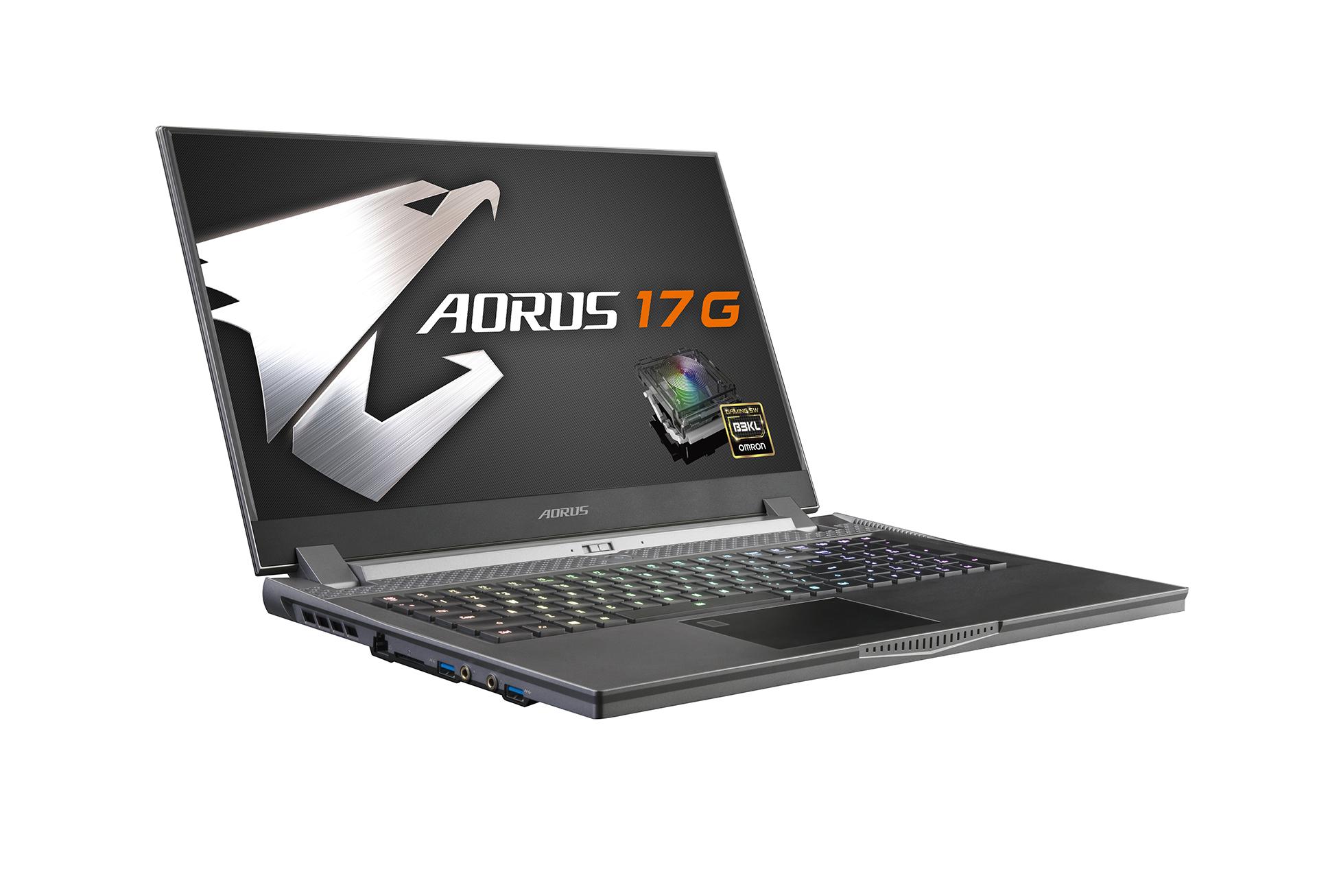 AORUS 17G 專業電競筆電 / 技嘉科技股份有限公司