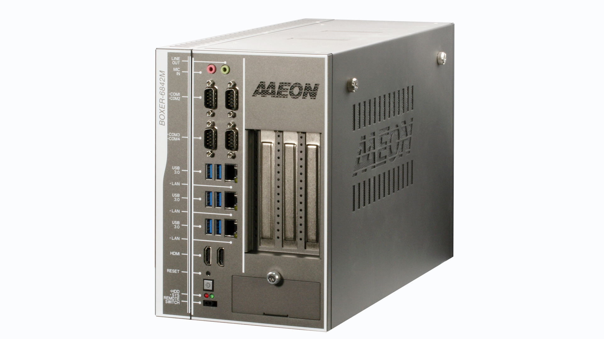 Edge AI Fanless Embedded Industrial Controller