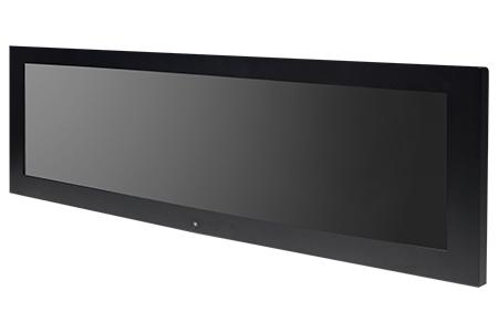 "EN50155 Certified AIO 28.6"" Bar-Type Panel PC / IBASE Technology Inc."