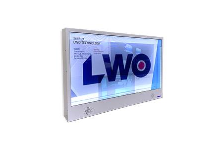 超薄數位觸控透明展示箱 / 凌暉科技股份有限公司
