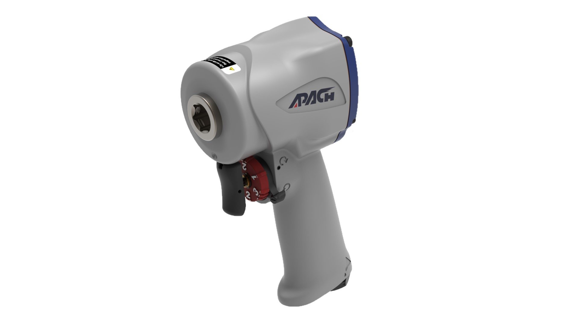 SUPER STUBBY AIR IMPACT WRENCH-APACH INDUSTRIAL CO., LTD.