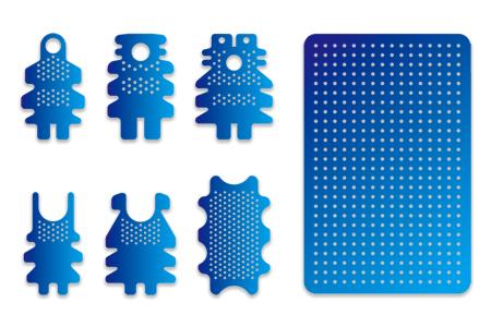 Vivid Blue Ti-Mesh system-ALLIANCE GLOBAL TECHNOLOGY CO., LTD.
