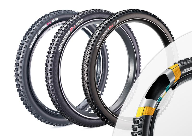 AGC越野下坡自行車用胎技術 / 建大工業股份有限公司