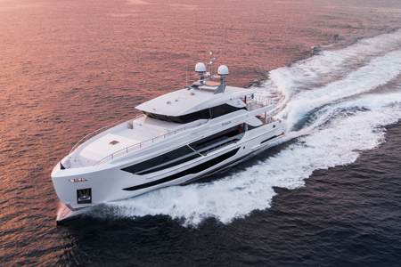 102feet luxury motor yacht / Horizon Yacht Co., Ltd.