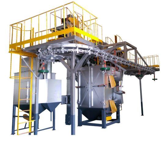 鍊條輸送行懸吊式噴洗機-大鎪科技股份有限公司
