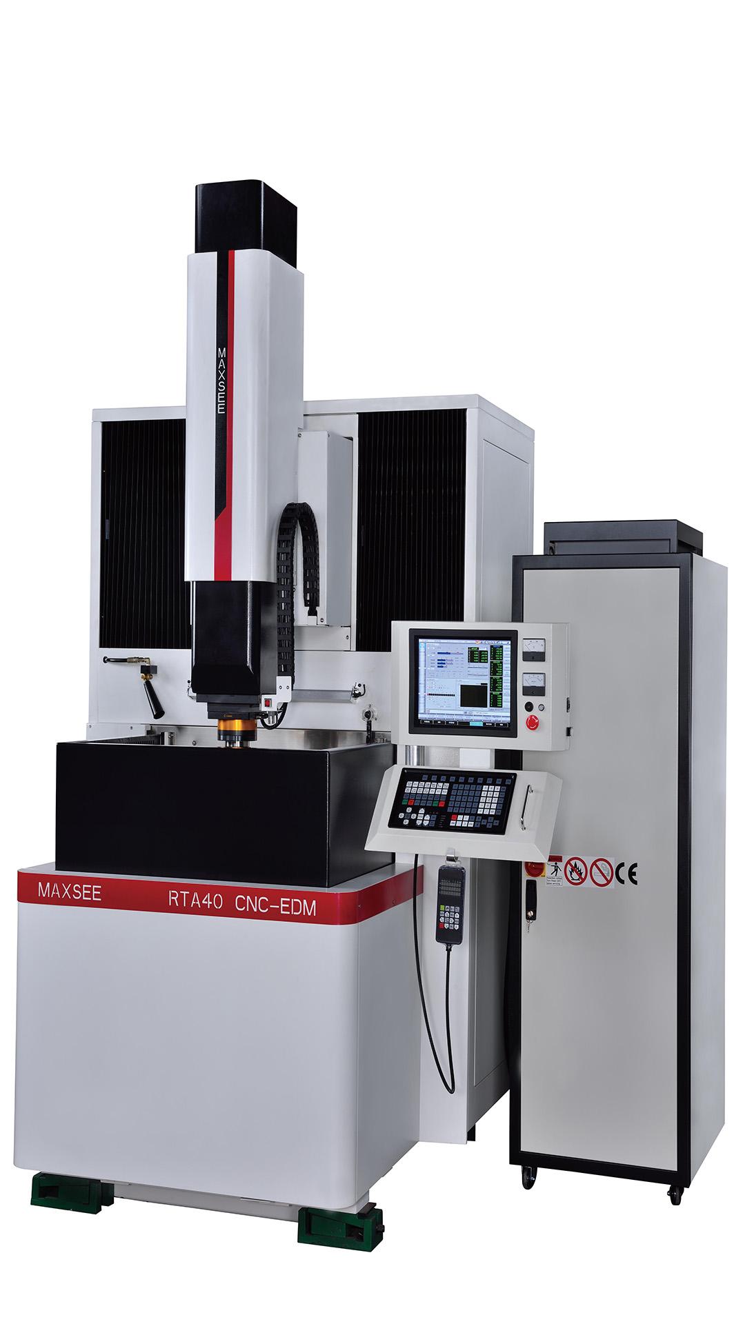 高速鏡面加工対応の放電加工機
