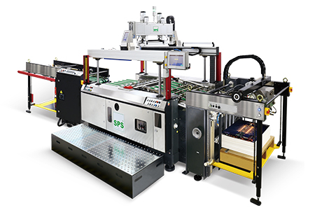 Fully Auto High Speed Cylinder Stop screen printer-ATMA CHAMP ENT. CORP.