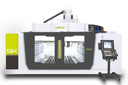 5-axis high-speed gantry machining center-ASIA PACIFIC ELITE CORP.