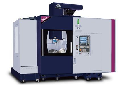 彈性生產五軸加工機 / 凱柏精密機械股份有限公司