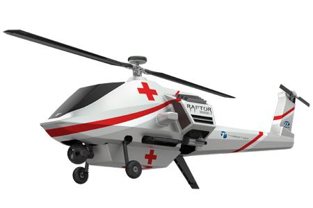 緊急醫療物資運輸無人直升機 / 雷虎科技股份有限公司