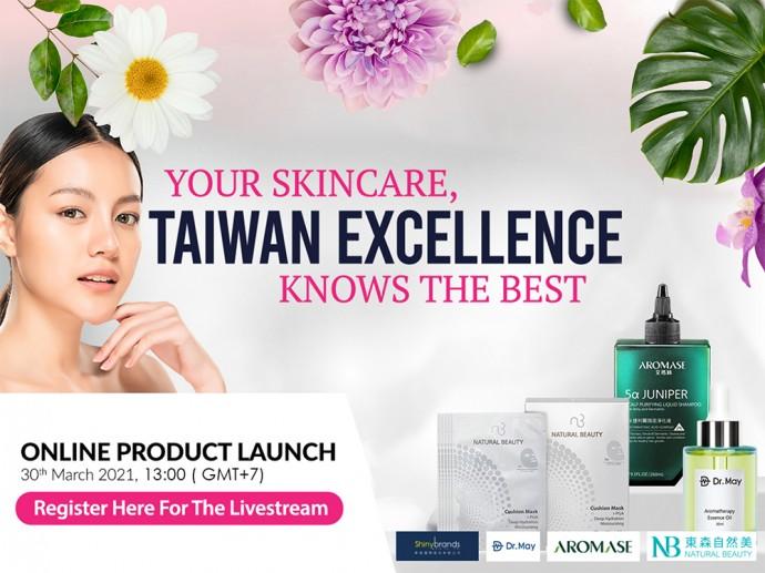 Taiwan Excellence มอบการวิเคราะห์และเผยเคล็ดลับแห่งความงาม เพื่อการบำรุงผิวที่สมบูรณ์แบบ