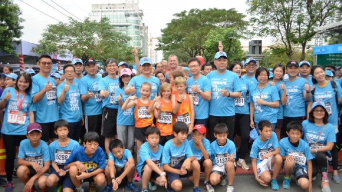胡志明市公益路跑(HCMC Run)辦理台灣精品運動行銷
