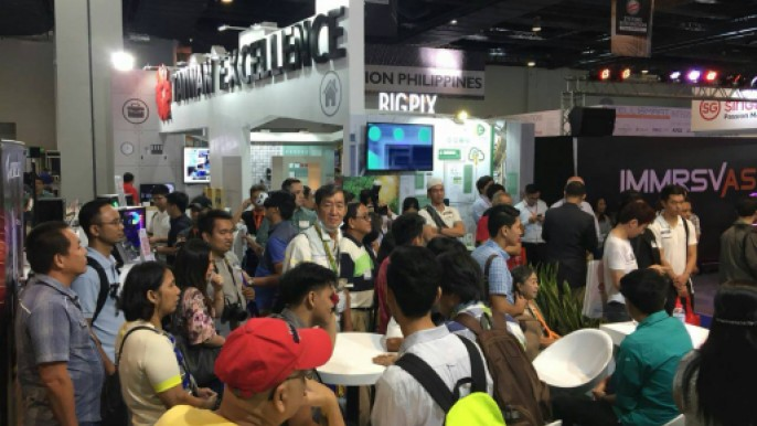 菲律賓整合系統展(SIP)設置台灣精品館
