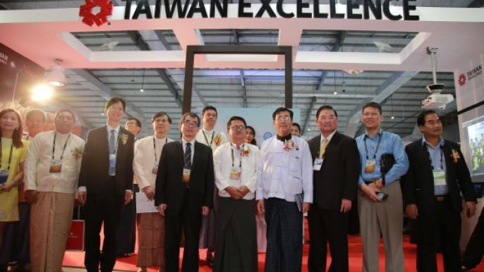 緬甸仰光「緬甸國際汽機車電子」暨「緬甸國際電機電子」聯展設置「台灣精品館」